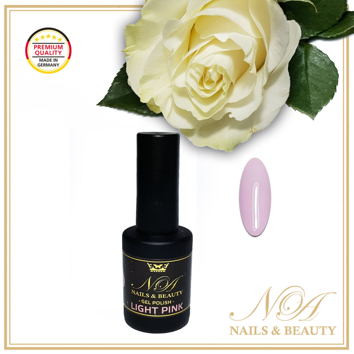 Oja Semipermanenta Light Pink 10 ML