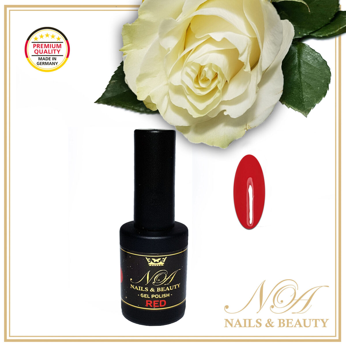 Oja Semipermanenta Red 10 ML