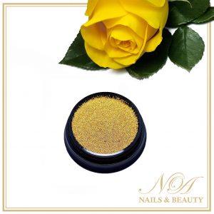 Caviar Unghii Auriu 0.6 mm